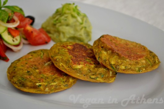 courgette pancakes 1